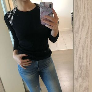 Vince Camuto Studded Sweater